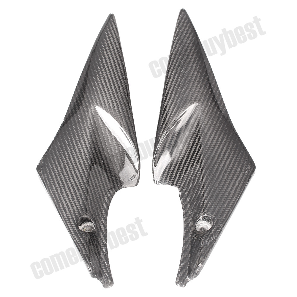 Motorcycle Tank Side Cover Panels Fairing for Suzuki GSXR600 GSXR750 GSXR 600 750 K6 2006 2007 06 07 Carbon Fiber Parts 2 PCS for suzuki gsxr600 gsxr750 gsxr 600 750 k4 tank side cover panels fairing 2004 2005 2pcs carbon fiber motorcycle parts