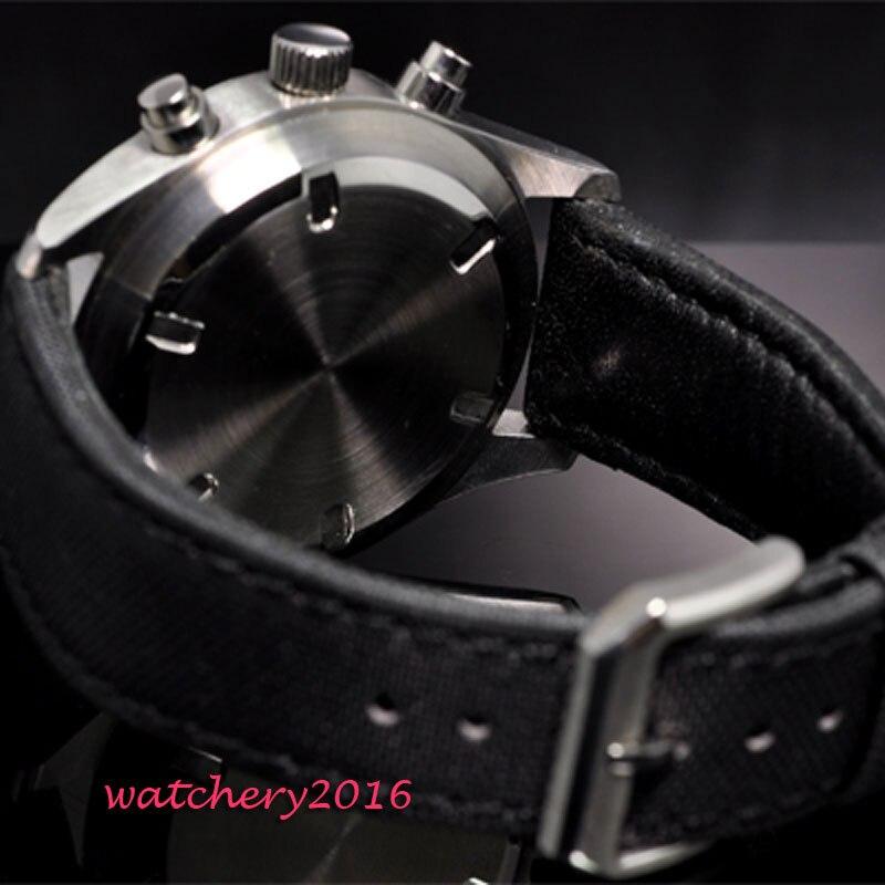 OCHSTIN Мужские кварцевые часы из нержавеющей стали с сетчатым ремешком черные спортивные часы мужские часы с хронографом Топ бренд Relogio Masculino - 5