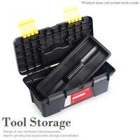 10 Polegada caixas de armazenamento de ferramenta abs multifuncional 250x130x100mm para ferramentas componentes ferragem woodworker eletricista caixa