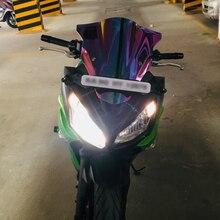 Мотоцикл двойной пузырь лобовое стекло ветер экран для 2012- Kawasaki Ninja 650 ER-6F ER6F EX650 EX 650 F E A
