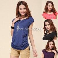 Free Shipping 2013 New Summer Dresses T Shirt 2013 Women Long T Shirts H1