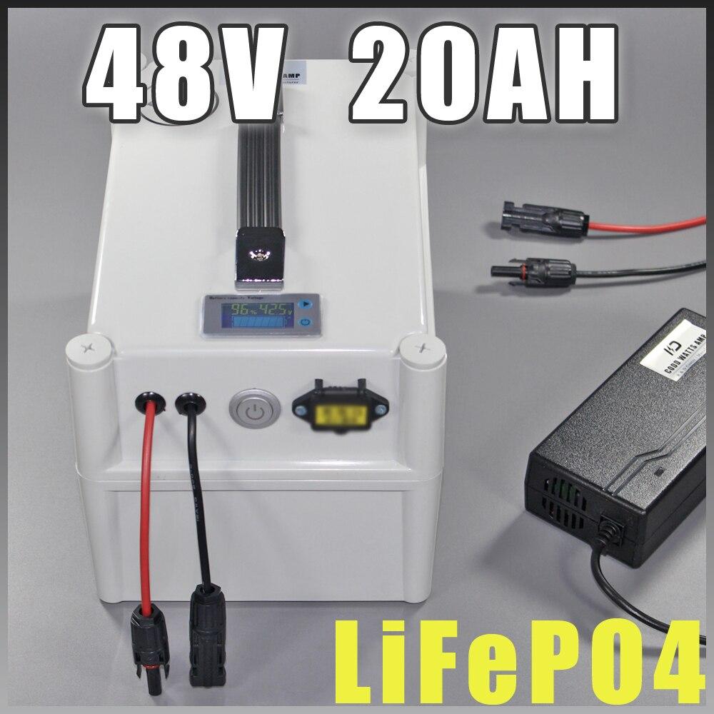 48V 20AH LiFePO4 baterie Elektrické kolo Ebike Battery 3.2V LiFePO4 Cells