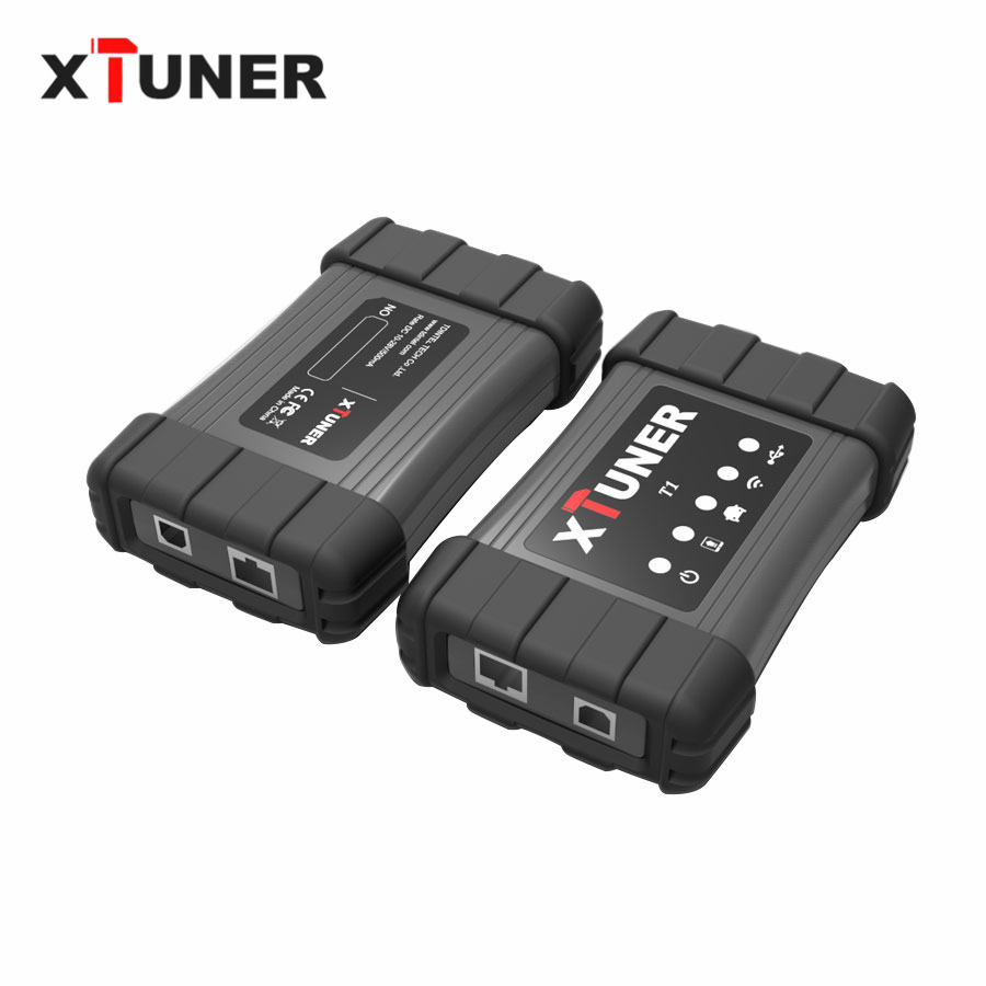 Цена за 2017 Heavy Duty Truck инструмент диагностики xtuner T1 Wi-Fi/USB OBD диагностический сканер для самосвалов abs airbag dpf двигателя код сканер