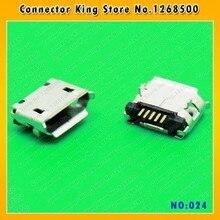 30PCS Smartphone tablet pc 5-pin long needle Micro USB Jack