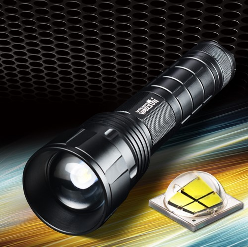 Фотография Warsun X80 Powerful LED flashlight Waterproof XHP50 2500lm 5-Mode White Light Zoom LED Single flashlight