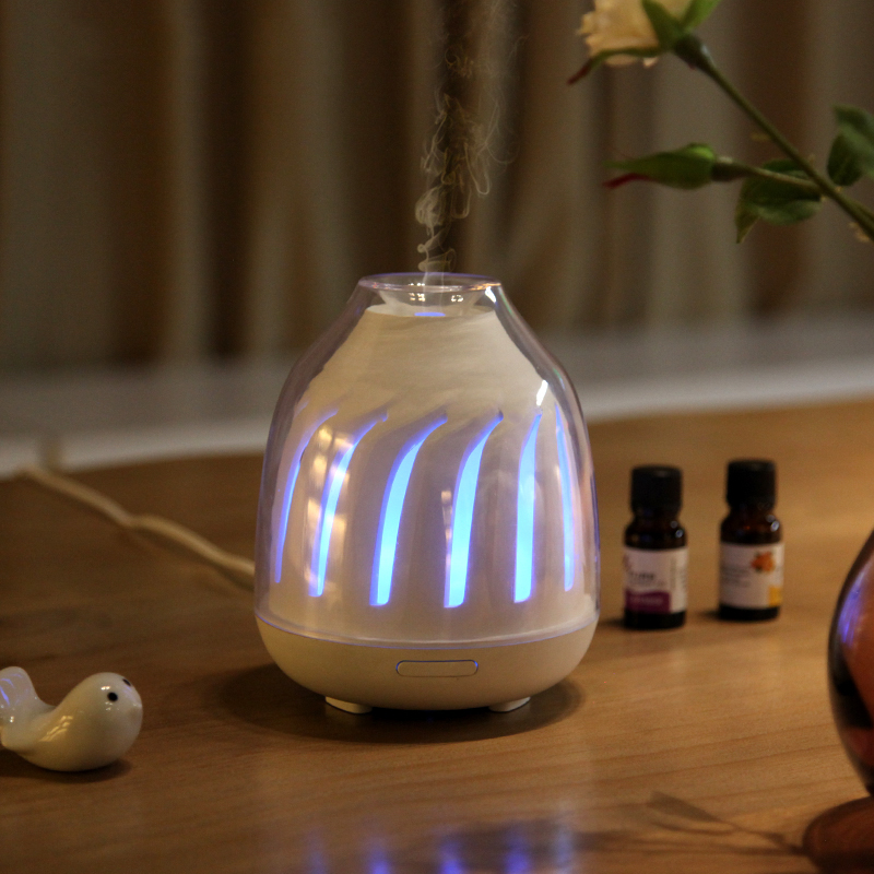 Household Essential Oil Aroma Diffuser 120ML Night Light Fragrant Atomizer Ultrasonic Air Humidifier Desktop Humidifier Big Mist цена
