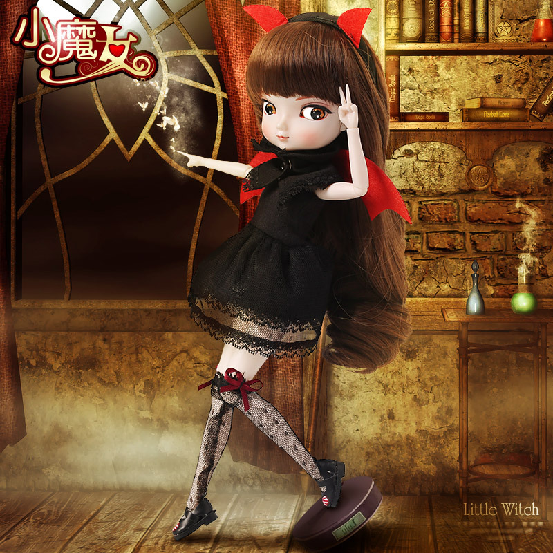 7PCS Different BB Girl SD BJD doll <font><b>mysterious</b></font> island girl doll 1/6 joint movable toy Gifts for children