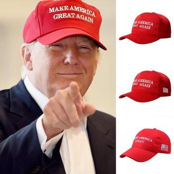 Donald Trump Cap Make America Great Again Hat GOP Republican Adjustable Mesh Baseball patriots for president - discount item  22% OFF Hats & Caps