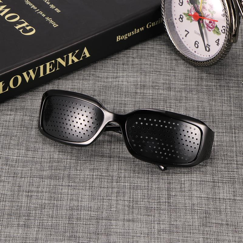 New Arrival Black Unisex Vision Care Pin Hole Eye Exercise
