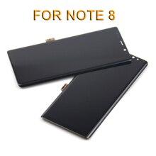 1 шт. хорошее качество дисплей мобильного телефона для samsung Note 8 N9500 N950F экран дигитайзер сборка Замена 6,3 дюймов