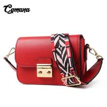 CGmana Women Bag 2018 High Quality Women Crossbody Bags Fashion Lock Design Handbag Women Shoulder Bag Color Shoulder Strap Flap все цены