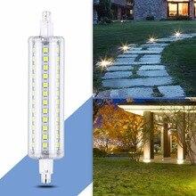 R7S Led Tubo Light Bulb Corn Lamp 78mm 220V Ampoule LED R7S 118mm 135mm Bombillas LED Replace Halogen Lamp 5W 10W 12W 15W 189mm стоимость