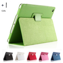 Para Apple iPad Air 1 funda con tapa de cuero para Apple iPad Air 1 Tablet Fundas Coque + Stylus Protector de pantalla(China)