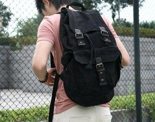 Aliexpress.com : Buy 2366 backpack,black fashion backpack bag, 100 ...