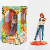 Free Shipping Anime 8.7 One Piece P.O.P POP Nami After 2 Years Sexy Boxed PVC Action Figure Collection Model Toy Gift KA0298