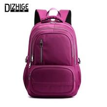 DIZHIGE Brand Large Capacity Oxford Women Backpack High Quality School Bag For Teenager Girl Luxury Multi-pocket Travel Backpack