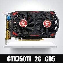 Veineda Video Kart Orijinal GPU GTX750Ti 2 GB GDDR5 Grafik Kartları InstantKill R7 350, nVIDIA Geforce için HD6850 oyunları