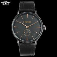 T-WINNER Men Mechanical Watches Winner top luxury brand hand