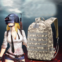 Купить с кэшбэком Playerunknown's Battlegrounds PUBG Winner Chicken Dinner Level1-3 Instructor Backpack Multi-functional Backpack Multicolor
