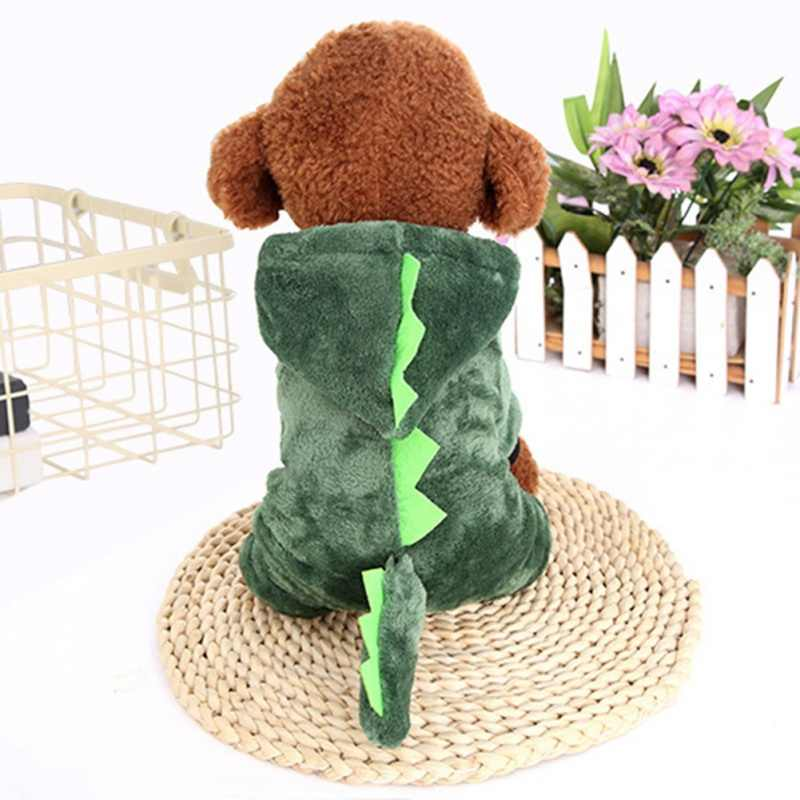 Warm Dog Clothes Pet Dog Halloween Dragon Clothing For Puppy Halloween Costume Cat Animals Clothes Hoodie Coat Costume Suit