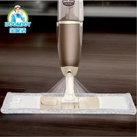 Creativo agua pulverizada trapeadores suelo lampazos limpieza fregona del vapor con fuerte capacidad de absorción de descontaminación fuerte tela 360 degree