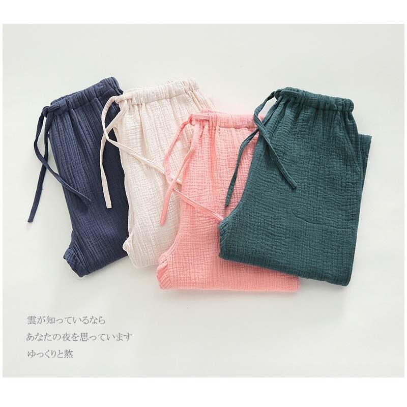Aufstrebend Pyjama Hosen Böden Baumwolle Hosen Frauen Schlafanzug Schlafen Schlaf Tragen Lounge Plus Size Strickwaren-strickjacke Xl Baumwolle Nachtwäsche Solide Schlafhosen