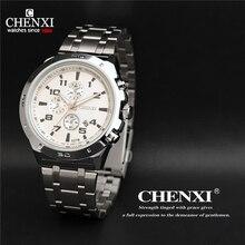 CHENXI Relojes Para Hombre de Primeras Marcas de Moda de Lujo Relojes de pulsera de Reloj de Cuarzo de Los Hombres Relogio masculino Militar Ocasional de Los Deportes a prueba de agua