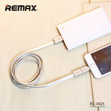 Remax Strive 2 in 1 Cable RC-042t 2.1A Fast Charging for iPhone 5 6 5s 6S Micro USB data cable For Samsung xiaomi Huawei Sony аксессуар remax knight rc 043i usb lightning для iphone 5 6 7 black