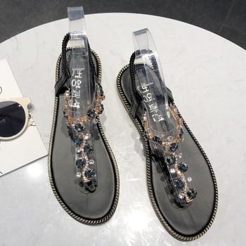 Fashion Women Sandals For 2020 Luxury Shoes Women Designers Beach Sandals Platform Ladies Shoes Light Breathable Roman Shoes 5