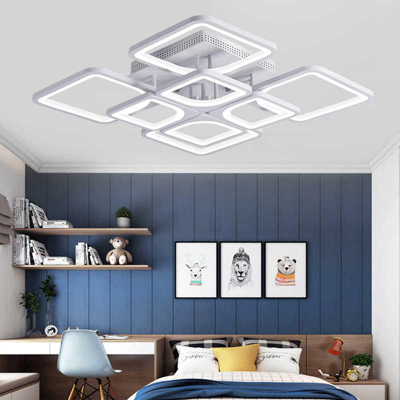 New led Chandelier For Living Room Bedroom kitchern Home chandelier Modern Led Ceiling Chandelier Lamp Lighting chandelier