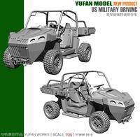 Yufan Model 1/35 Resin Vehicle For Us Terrain Vehicle Model Kit YFWW35 1819