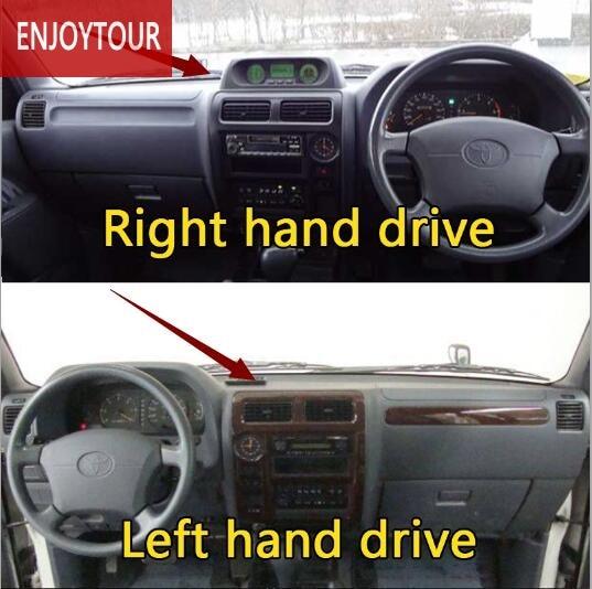 Dashmats Car-styling Accessories Dashboard Cover For Toyota Prado J90 1996 1997 1998 2000 1999 2001