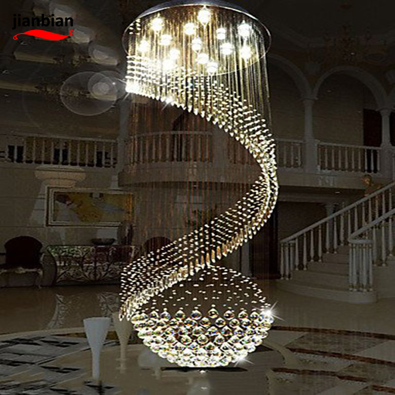 Modern LED pendant lamp Crystal  Lighting  Lamps Fixtures with LED Source Clear K9 Crystal , cool white-110-120v led luxury led amber k9 crystal pendant lights lamps fixtures with 3 ringsfree shipping110 240v