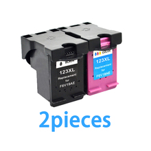 2 stücke Für HP 123 123XL Tintenpatrone Für HP Deskjet 1110 1111 1112 2130 2132 3630 3632 druckerpatronen Kompatibel Für HP123