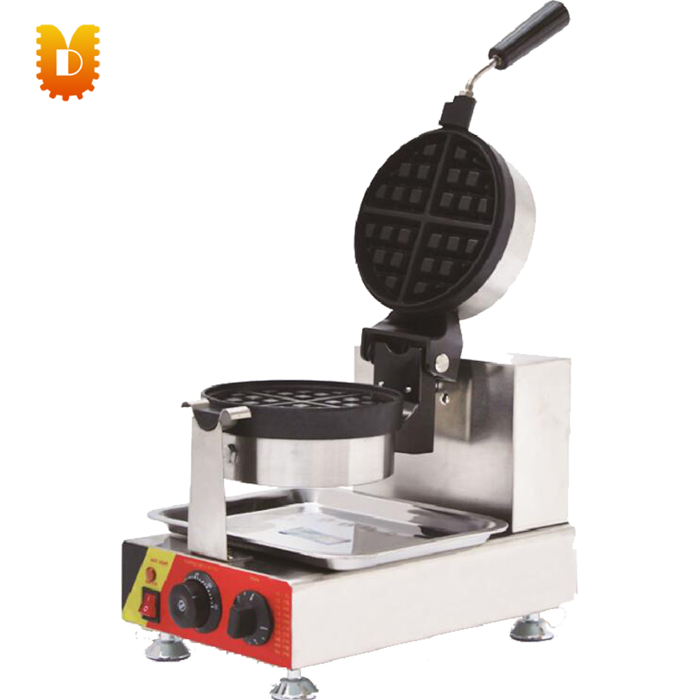 UDHF 546 4 cup rotate muffin pan waffle cone maker cake making machine