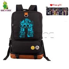437465decf1c Anime One Piece Trafalgar Law Backpack Women Men Computer Backpack Boys  Girls School Bags Daily Backpack