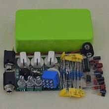 Handmade Analog  DIY maker Full delay effects pedal kits ,including 1590B aluminum enclosure free shipping