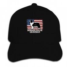 Berretto Da Baseball di stampa Personalizzata Divertente uomini della  novità delle donne Border Collie Nonna Bandiera 8977af294867