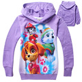 wholesale New Spring Cute Baby Girl Coat Print Cartoon Dog Patrol Long Sleeve Puppy Patrol Kids Hoodies Girls Hoodies Sweatshirt