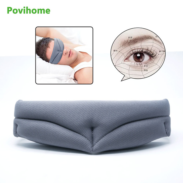 f7e52fbdcd0 Eyeshade Travel Sleeping Eye Mask 3D Ultra-soft Breathable Shade Cover Rest  Aid Eye Mask Cover Eye Patch Sleep Mask C1514-15