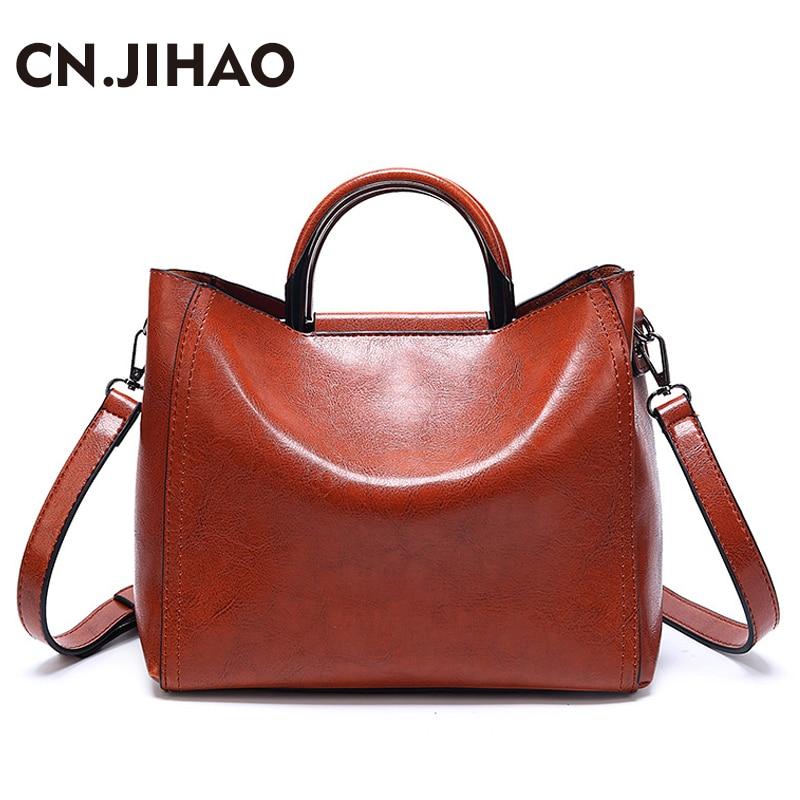 e65c9b7f5c Crossbody Jihao Modo Messaggero Famose Femminile Donne Bag brown Casual  Solido Borse red Dell'unità green ...