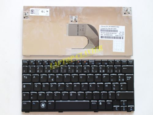 New notebook Laptop keyboard for   DELL Inspiron Mini 1012 1018 08000Y  French Layout new laptop keyboard for asus 0kn80 1120fr00 black windows 8 french layout