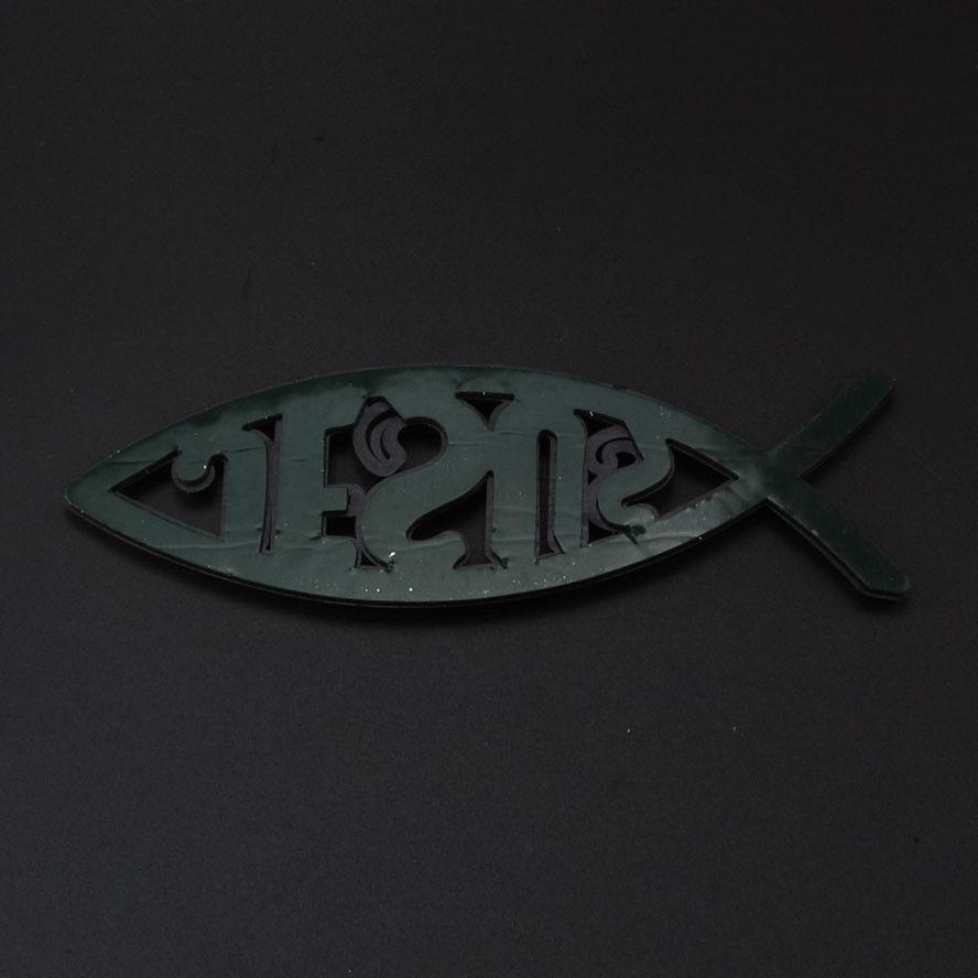 3d chrome christian jesus fish emblem sticker car badge religious 3d chrome christian jesus fish emblem sticker car badge religious ichthus symbol on aliexpress alibaba group biocorpaavc Image collections