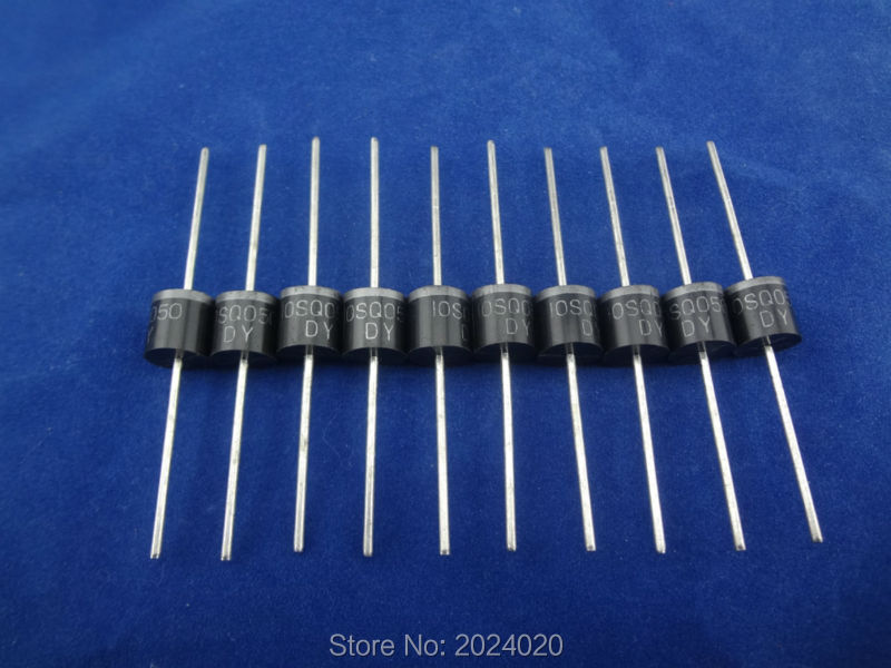10 Pcs Of 10a 50v Schottky Diode For Solar Panel Diy