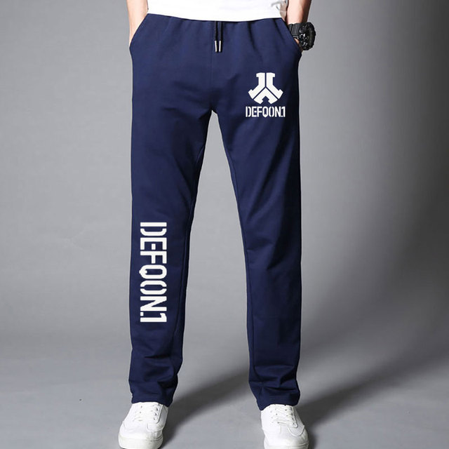 New Autumn Mens Joggers Defqon 1 Fitness Casual Joggers Sweatpants Bottom Music Concert DJ For Cool And Fashion Pants For Men