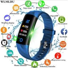 2019 Smart Sport Watch Pedometer Heart Rate Monitor Blood Oxygen Fitness Tracker Smart Wristband Sport Watch Swim Waterproof