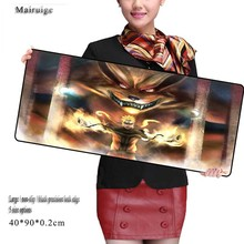цена Mairuige Free Shipping Naruto XL900*400 MM 900*300 MM For CSGO Mouse Pad Counter Strike OffensiveTable Mat for PC Laptop Mouse онлайн в 2017 году