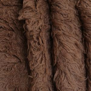 Image 5 - ライトピンクギリシャウール Flokati Natural Chunky カーリーウール毛布新生児ポーズ背景生地ヴィンテージ女の赤ちゃんの毛皮小道具