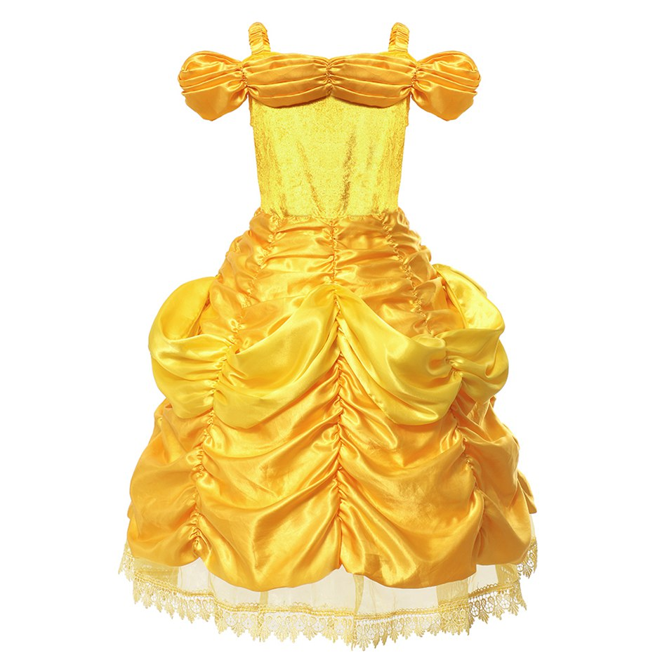 Girls Belle Costume (4)