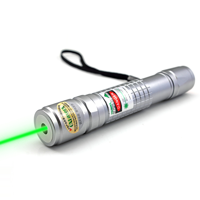 oxlasers 5mW 5 in 1 focusable green laser poiner torch star pointer visible beam FREE SHIPPING